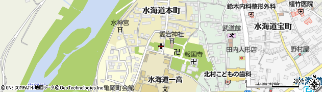 茨城県常総市水海道本町2575周辺の地図