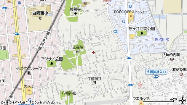 〒349-0218 埼玉県白岡市白岡の地図