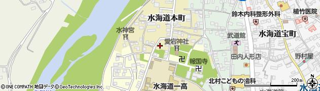 茨城県常総市水海道本町2578周辺の地図