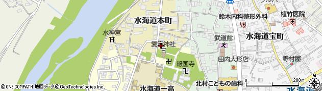 茨城県常総市水海道本町2632周辺の地図