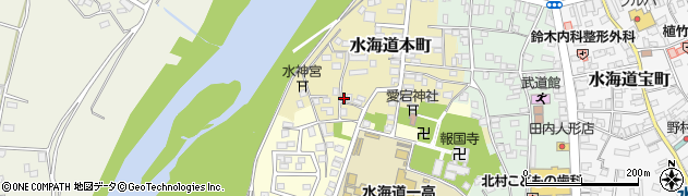 茨城県常総市水海道本町2570周辺の地図