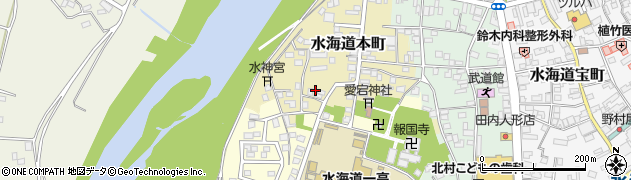 茨城県常総市水海道本町2571周辺の地図