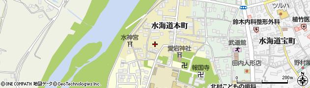 茨城県常総市水海道本町2509周辺の地図