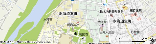 茨城県常総市水海道本町2634周辺の地図