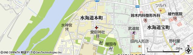 茨城県常総市水海道本町2630周辺の地図