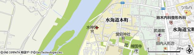 茨城県常総市水海道本町2584周辺の地図