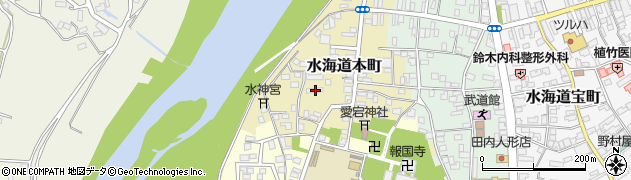 茨城県常総市水海道本町2581周辺の地図