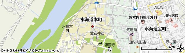 茨城県常総市水海道本町2596周辺の地図