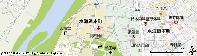茨城県常総市水海道本町2629周辺の地図