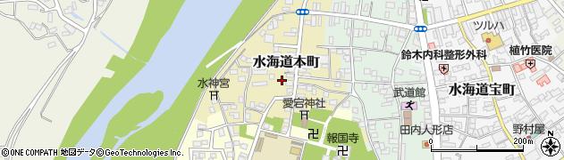 茨城県常総市水海道本町2595周辺の地図