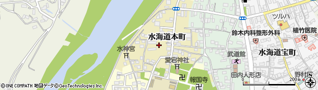 茨城県常総市水海道本町2597周辺の地図