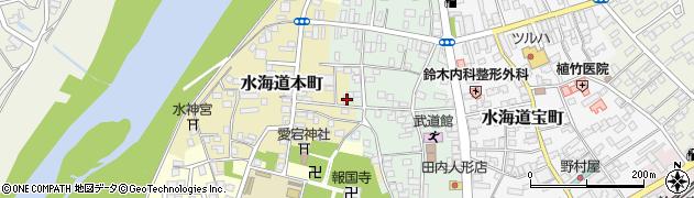 茨城県常総市水海道本町2625周辺の地図