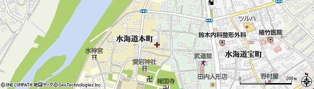 茨城県常総市水海道本町2627周辺の地図