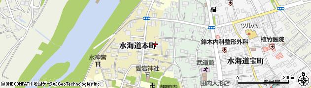 茨城県常総市水海道本町2622周辺の地図
