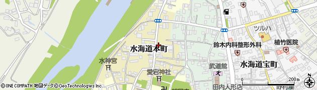 茨城県常総市水海道本町2621周辺の地図