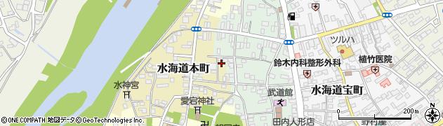 茨城県常総市水海道本町2624周辺の地図