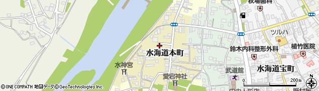 茨城県常総市水海道本町2601周辺の地図