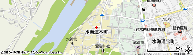 茨城県常総市水海道本町2600周辺の地図