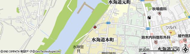 茨城県常総市水海道本町2591周辺の地図
