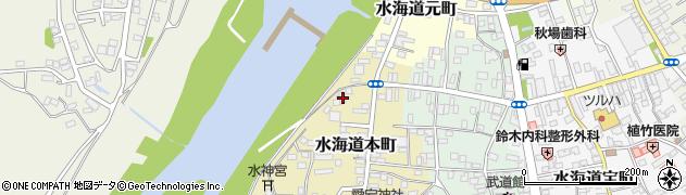茨城県常総市水海道本町2606周辺の地図