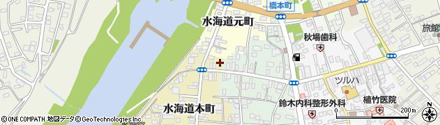 茨城県常総市水海道本町3439周辺の地図