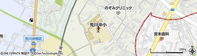 茨城県土浦市荒川沖東周辺の地図