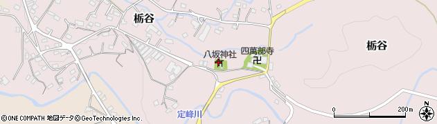 栃谷八坂神社周辺の地図