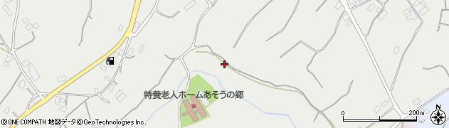 茨城県行方市青沼周辺の地図