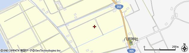 茨城県行方市橋門周辺の地図