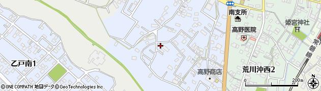 茨城県土浦市荒川沖周辺の地図