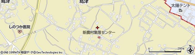 茨城県阿見町(稲敷郡)島津周辺の地図