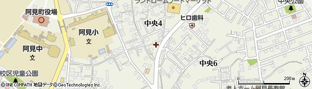 茨城県阿見町(稲敷郡)中央周辺の地図