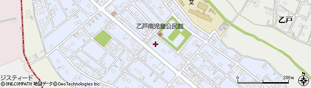 茨城県土浦市乙戸南周辺の地図