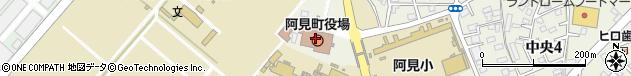 茨城県稲敷郡阿見町周辺の地図