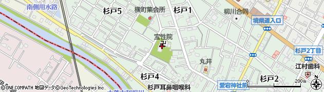 宝性院周辺の地図