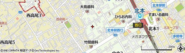 満寿美マンション周辺の地図