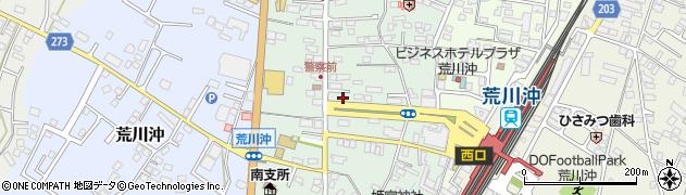 茨城県土浦市荒川沖西周辺の地図