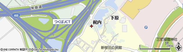 菊水サトー建設株式会社 つくば支店・工事部周辺の地図