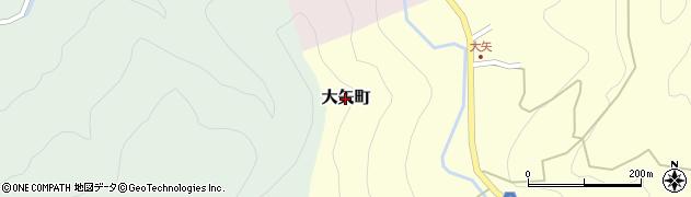 福井県福井市大矢町周辺の地図