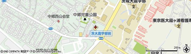 阿見町役場 地域子育て支援センター周辺の地図