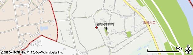 埼玉県春日部市西親野井周辺の地図