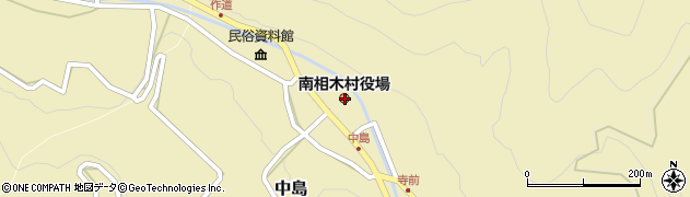 長野県南佐久郡南相木村周辺の地図
