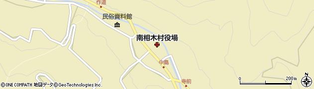 長野県南相木村(南佐久郡)周辺の地図