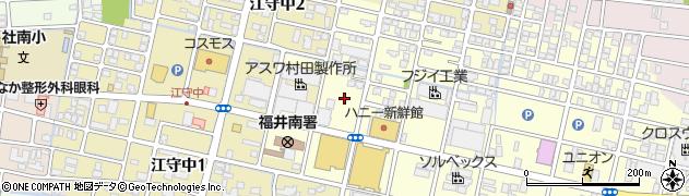 福井県福井市江守中町周辺の地図