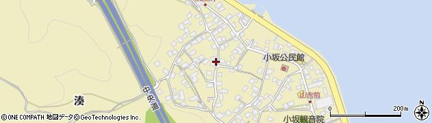 長野県岡谷市湊(小坂)周辺の地図