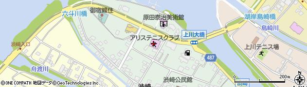 長野県諏訪市渋崎周辺の地図