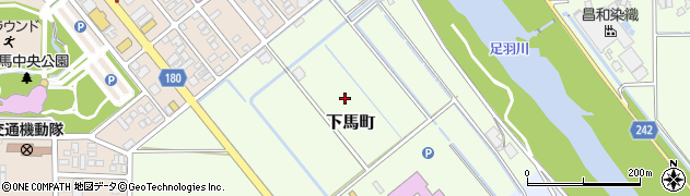 福井県福井市下馬町周辺の地図
