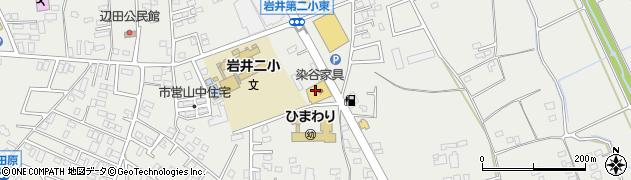 有限会社染谷家具 岩井店周辺の地図