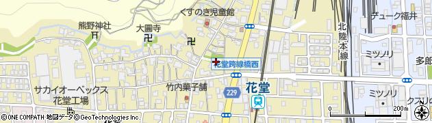 秘鍵寺周辺の地図