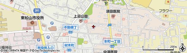 武道場周辺の地図